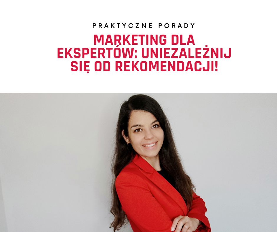 marketing ekspercki, rekomendacje