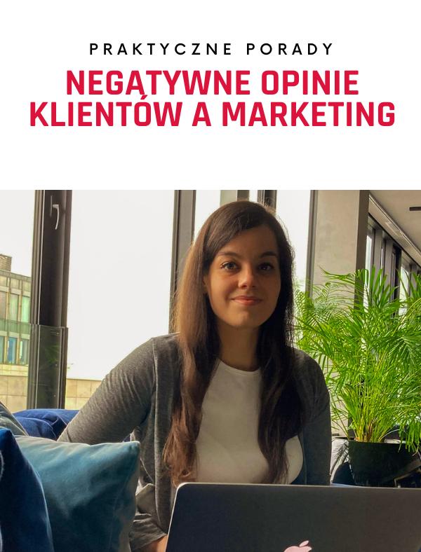Negatywne opinie klientów a marketing: czyli przyznawanie się do rzeczy, których Twoi konkurenci się boją!